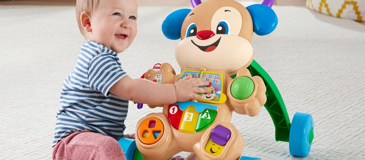 Comment choisir le meilleur trotteur pour son bébé ?